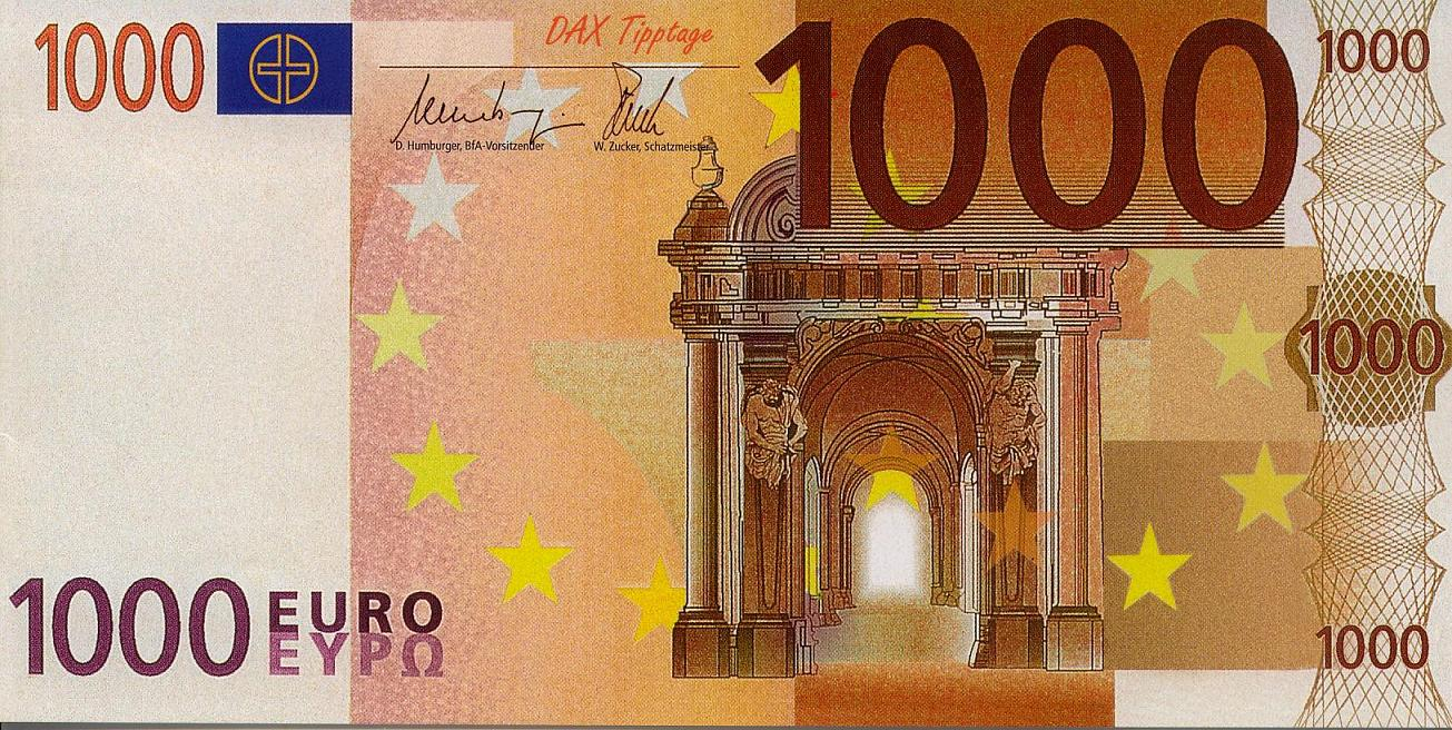 1000 euros to pounds