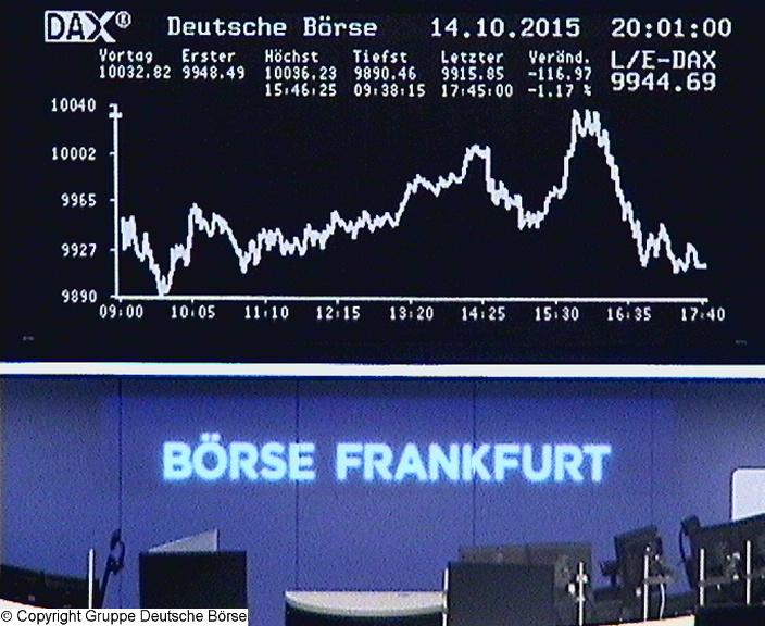 Dax Realtime Kurse Frankfurt