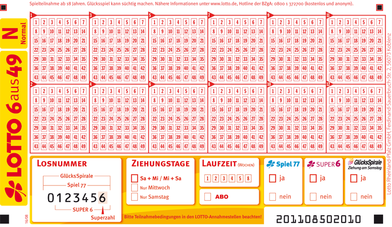lotto normal mittwoch