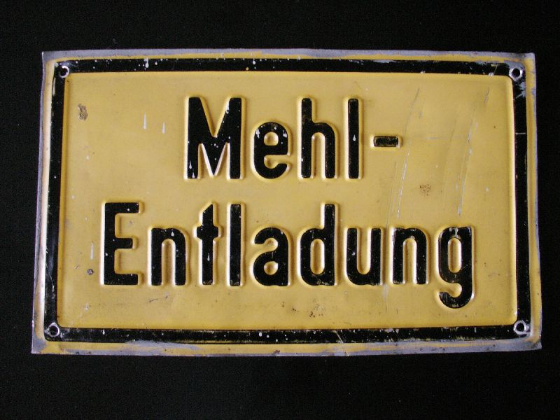 mehl-entladung