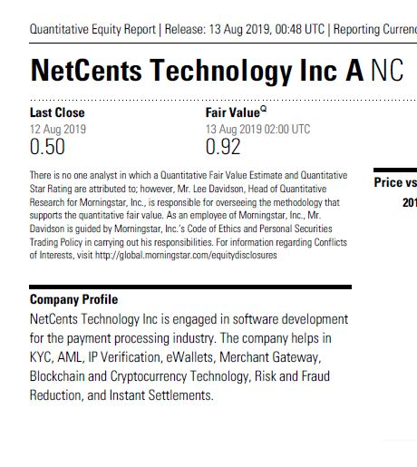 Netcents Technology Thread moderiert A2AFTK 1128288