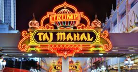 "Das ""Trump Taj Mahal"" in Atlantic City."