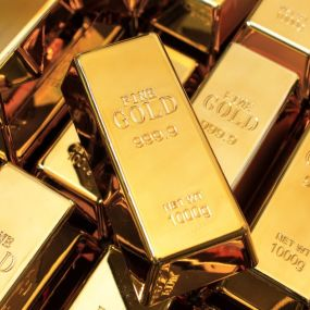 Eine Form des Investments: Goldbarren