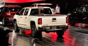 GMC Sierra Pickup auf der Detroit International Auto Show 2015.