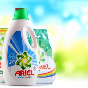 Ariel ist eine Marke von Procter & Gamble.