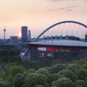 Lanxess Arena in Köln.