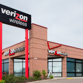 Eine Verizon Wireless-Filiale in den USA.